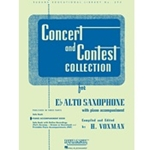 Concert and Contest Collection, Alto Sax (or Baritone Sax)