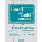 Concert and Contest Collection, Tenor Saxophone