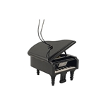 Grand Piano Ornament, Mini (Black)