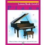 Alfred's Basic Piano Library Lesson Level 4