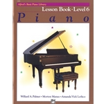 Alfred's Basic Piano Library Lesson Level 6