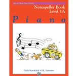Alfred's Basic Piano Library Notespeller Level 1A