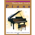 Alfred's Basic Piano Library Theory Level 6