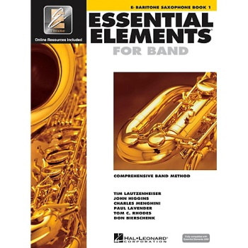 Essential Elements for Band Book 1 - Baritone Saxophone