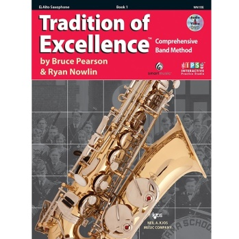 Tradition of Excellence alto sax