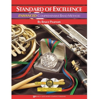 Standard of Excellence Enhanced Book 1 - Bb Clarinet