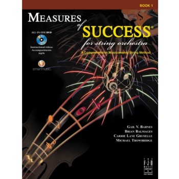 Measures of Success for String Orchestra Book 1 - Viola