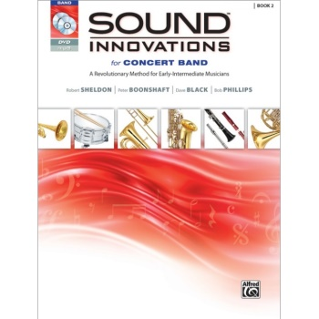 Sound Innovations for Concert Band Book 2 - Percussion: Snare Drum, Bass Drum, Accessories