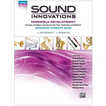 Sound Innovations Ensemble Development - Advanced Concert Band - Tuba