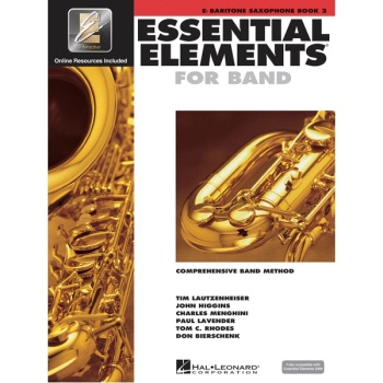 Essential Elements for Band Book 2 - Baritone Saxophone