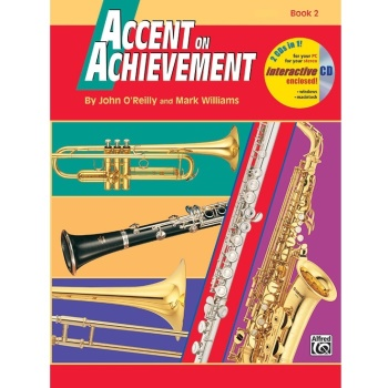Accent on Achievement Book 2 - Percussion: Snare Drum, Bass Drum, Accessories