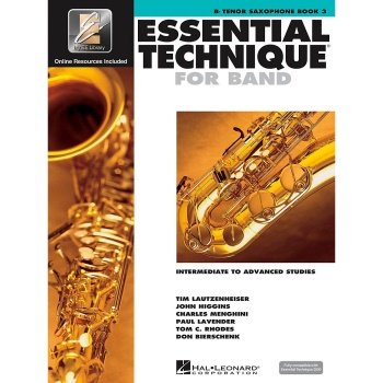 Essential Technique for Band - Tenor Saxophone