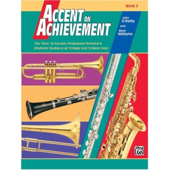 Accent on Achievement Book 3 - Percussion: Snare Drum, Bass Drum, Accessories