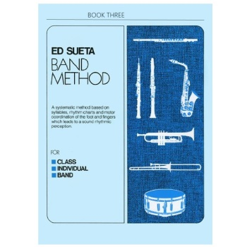 Ed Sueta Band Method Book 3 - Drums