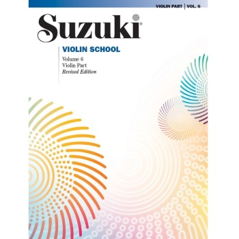 Suzuki Violin School Violin Part, Volume 6