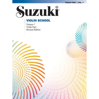 Suzuki Violin School Violin Part, Volume 7