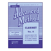 Rubank Advanced Method - Clarinet, Volume 2