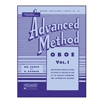 Rubank Advanced Method - Oboe, Volume 1
