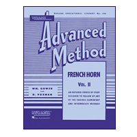Rubank Advanced Method - French Horn, Volume 2