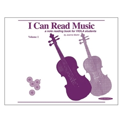 I Can Read Music Volume 1, Viola