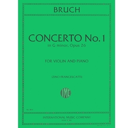 Concerto No. 1 in G Minor for Violin (Bruch)